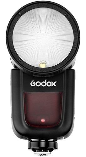 Flash Godox V1 Para Nikon Com Rádio Modelo A Bateria