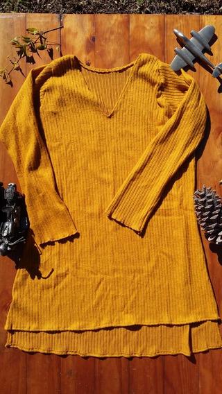 Vestido De Morley Mostaza Invierno´19