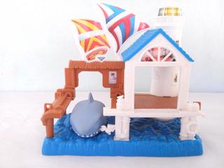 Mini Pista Carrinhos Matchbox Bahia Do Tubarão