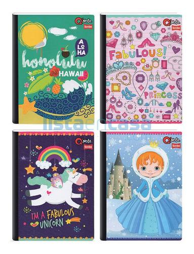 Caja De 30  Cuadernos Cosidos De 100 Hojas Grande