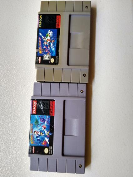 Mega Man X E X2 Original Para Super Nintendo