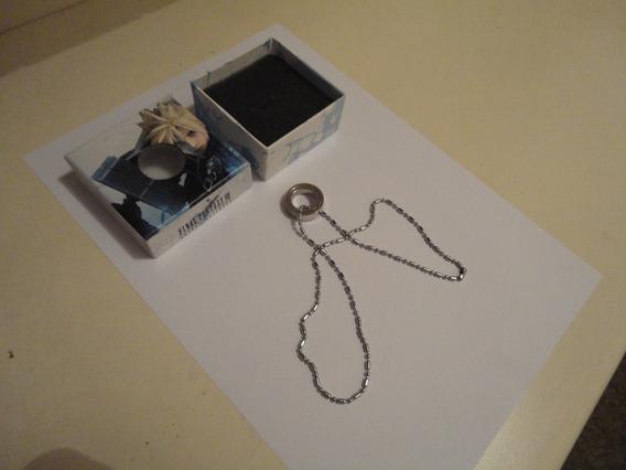 Colar Final Fantasy Vii Ff7 Cloud Advent Children Cor Prata