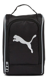 Lonchera Puma Unisex Evercat Stacker Lunch Box Negra / Plata