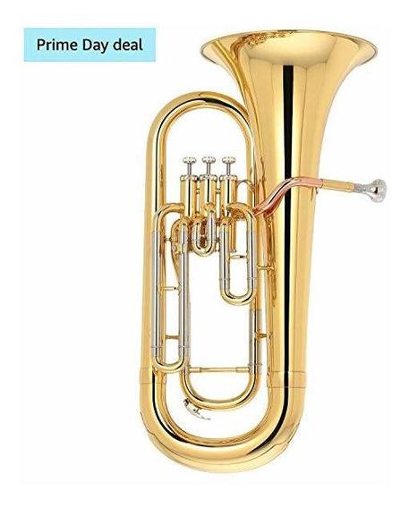 Kaizer Euphonium 2000 Series B Flat Bb Gold Lacquer Eup-20 ®