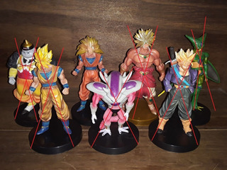 Set De Gashapones De Dragon Ball Z