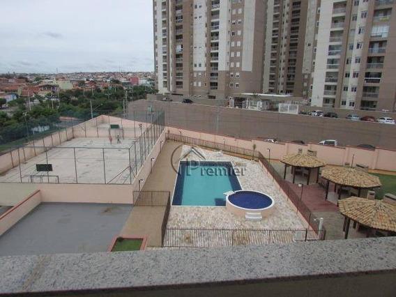 Apartamento Com 3 Dormitórios Para Alugar, 88 M² Por R$ 1.200/mês - Jardim Pompéia - Indaiatuba/sp - Ap0760