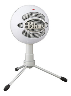 Microfono Condensador Blue Snowball Ice Usb Estudio Podcast