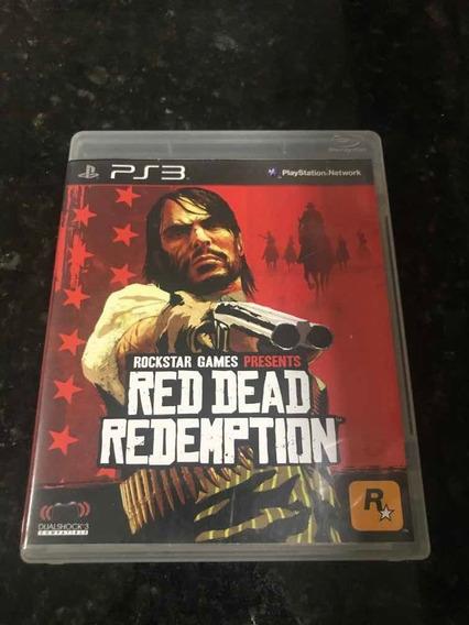 Jogo Ps3 Red Dead Redemption Original Mídia Física