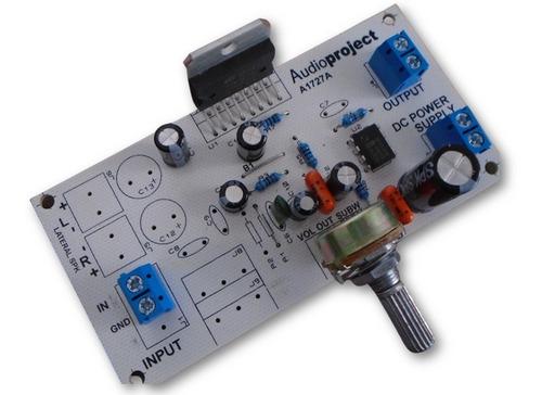 Modulo Amplificador Micrófono 20 Watts - 12v - Ideal Combis