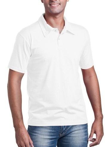 Camisa Gola Polo Masculina Adulto Malha Piquet Tamanho G