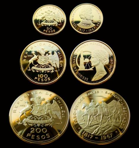 50, 100 Y 200 Pesos 1968