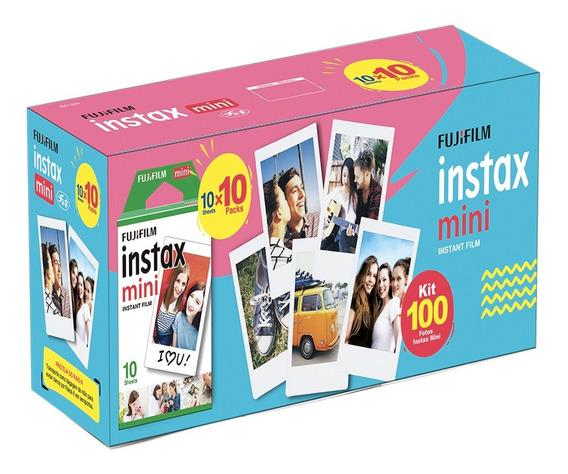 Filme Instax Mini 100 Fotos Fujifilm