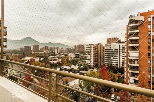Imagen 1 de 19 de Departamento En Venta De 3 Dormitorios En Las Condes