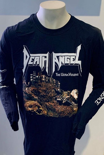 Death Angel The Ultra-violence (black) Long Sleeve T-shirt