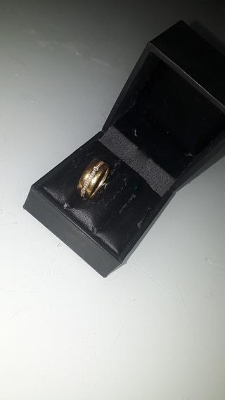 Aliança Feminina Vivara Ouro 18k 56 Pontos De Diamantes