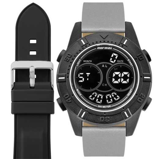 Relógio Mormaii Masculino Interestelar Mo1608ab/t8c