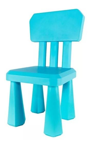 Silla Infantil Plastico Reforzado Respaldo Kuma Babymovil