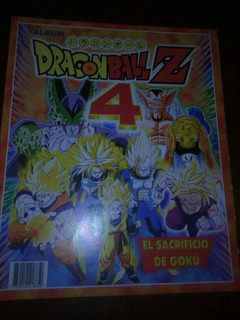 Album De Figuritas Vacio Nuevo Dragon Ball Z 4 Impecable