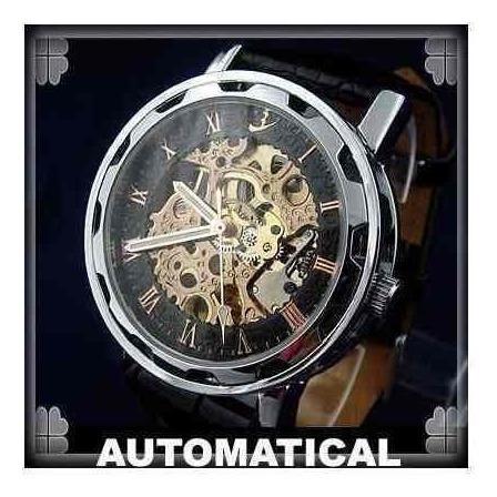 Lindo Relógio Flent Skeleton
