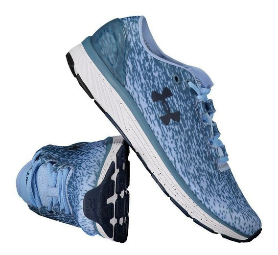 Tênis Under Armour Charged Bandit 3 Ombre Azul