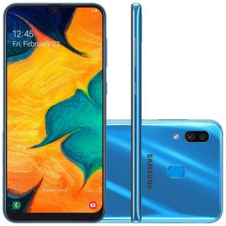 Smartphone Samsung Galaxy A30 64gb Azul