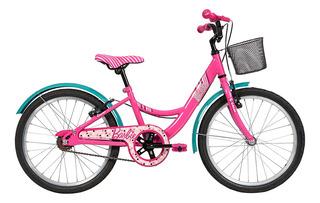 Bicicleta Infanto Juvenil Caloi Barbie Aro 20 - Quadro Aço