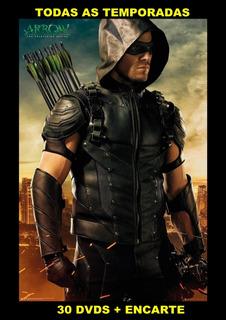 Série Arrow - 1ªa7ª Temporada Completa Dublada + Encarte.