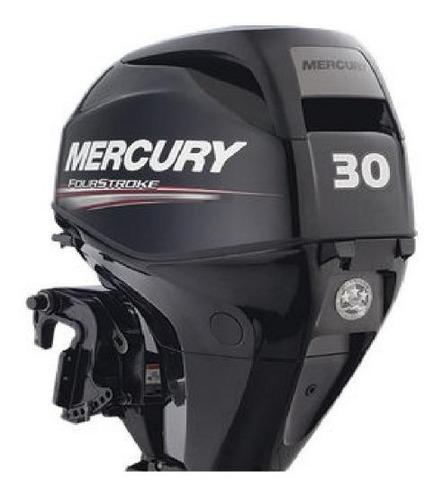 Imagen 1 de 8 de Motor Mercury Fuera Borda 30hp Efi 4t Comandos Garantia