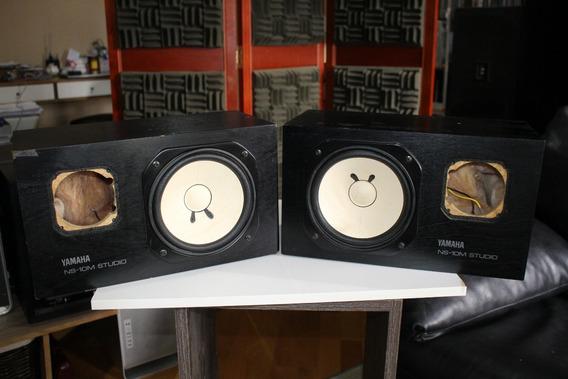 Monitor De Estúdio Yamaha Ns-10m (par Sem Tweeter)