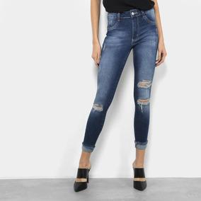 7a7c7d043 Calça Biotipo Feminina Rasgada Calcas Shorts Bermudas - Calçados ...