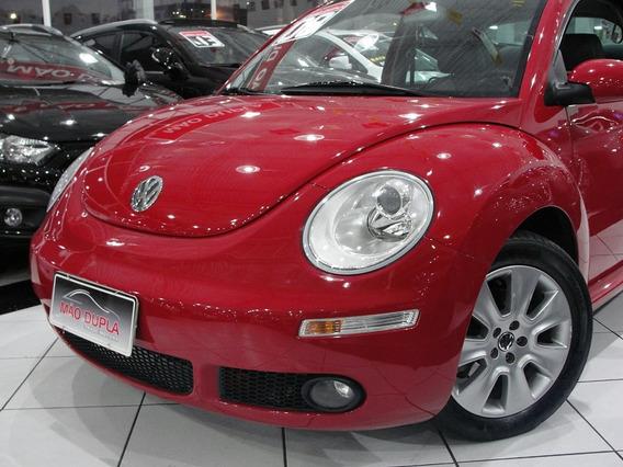 Volkswagen New Beetle 2008 Completo + Teto + Couro