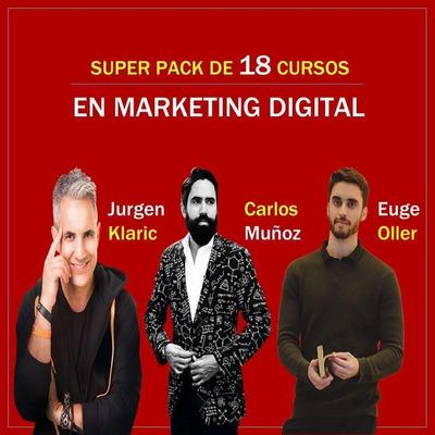 Pack De Cursos De Marketing Digital