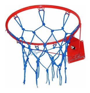 Aro De Basquet Profesional Con Resorte Volvada Basket 45 Cm