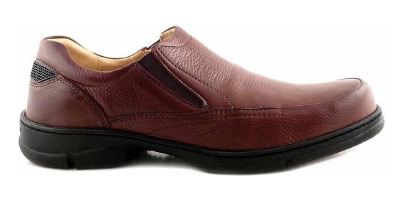 Zapato Anatomico Cuero Confort Hombre Goma Ancho - Hccz01090