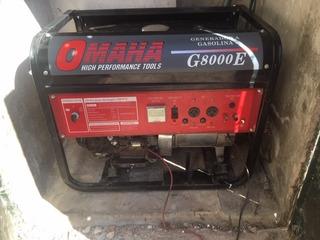 Grupo Electrógeno Omaha 8kva Con Transferencia Automatica