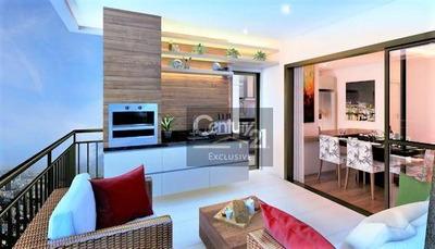 Apartamentos A Partir De R$602.351,00 Com 107,68 M², 3 Dormitórios Sendo 1 Suíte, Varanda Gourmet Integrada E 2 Vagas De Garagem Cobertas. Saiba Mais! - Ap0211