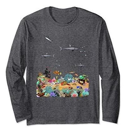 Camiseta De Tiburon Unisex Obsequio De Biologo Marino Arreci