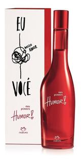 Humor 1 Primeiro Perfume Femenino Natura