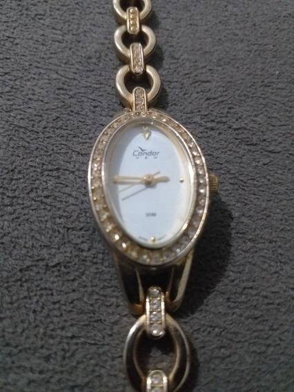 Relógio Condor Vintage Luxo Lindo Ovalado
