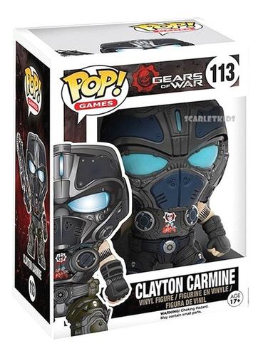 Funko Pop! Gears Of War Clayton Carmine 113 Scarlet Kids