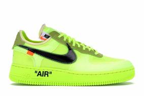 Nike Air Force 1 Low Virgil Abloh Off-white volt