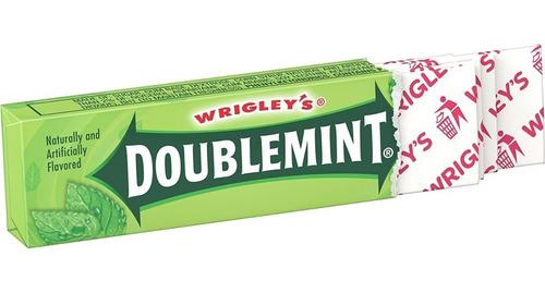 Chicle Double Mint X 40 Unidades Importado