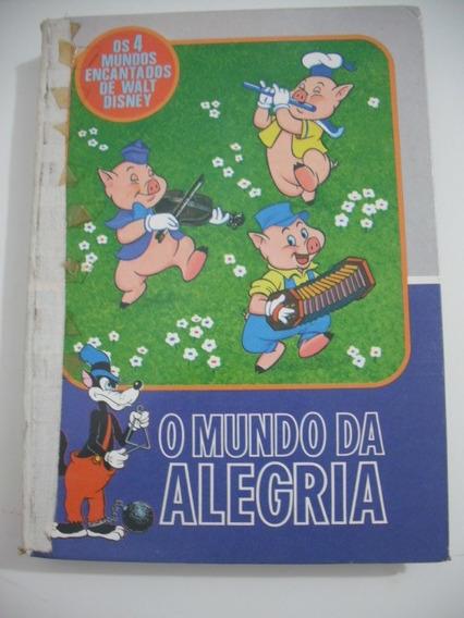 Livro Walt Disney O Mundo Da Alegria Abril Antigo