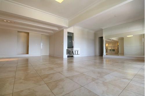 Apartamento À Venda Vila Imperial Com 4 Quartos, 2 Vagas 208 M² - V8056