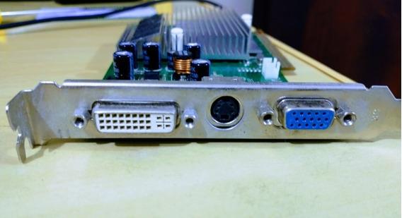 Placa De Vídeo Nvidia Geforce Fx5500 256mb Agp Dvi