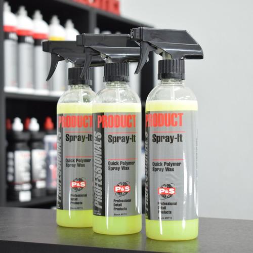 P&s Spray It Cera Rapida Con Polimeros - Medio Litro