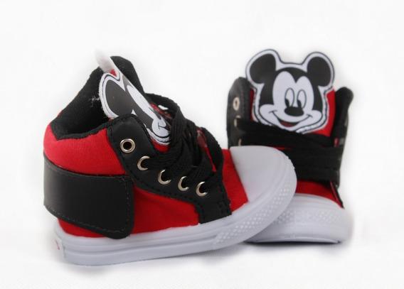 Tênis Infantil Mickey Minnie Combo Kit Com 3 Pares