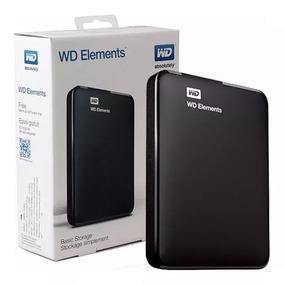 Hd Externo Portátil Wd Elements 4tb Usb 3.0 + Nfe