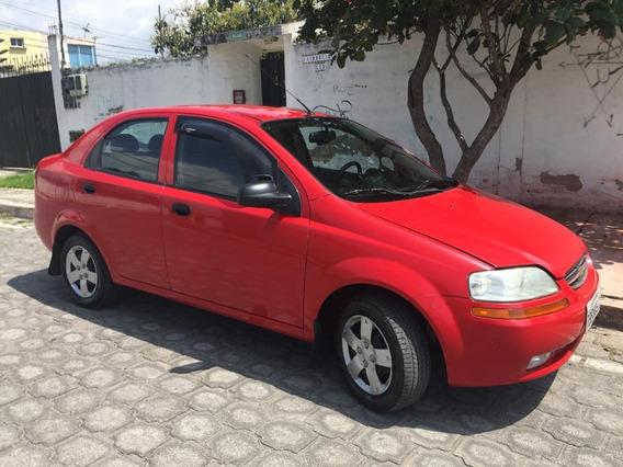 Vendo Aveo Rojo 2011