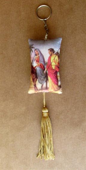 Chaveiro Com Imagem Da Sagrada Família
